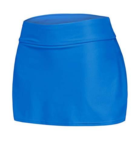 Jupe Couleur Bande JDS Jupe Unie Fortuning's de Femmes Bleu clair Jupe attache lastique Les n68xqYxv