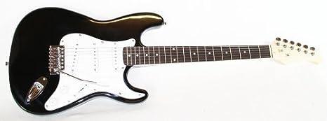 Guitarra eléctrica + Cable & trémolo (Negro)