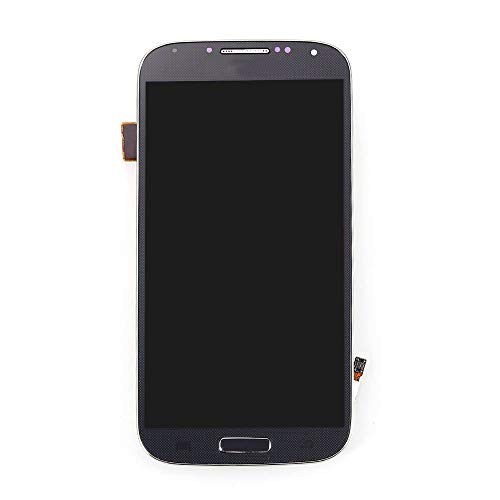 Samsung Galaxy S4 + Frame LCD Screen Touch Digitizer Assembly Replacement Galaxy i9505 Black