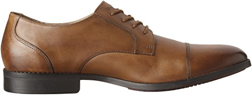 Cap Oxford Tan Bostonian Mens Bostonian Mens Garian Dark Leather Ix7Xq