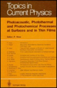 Photoacoustic, Photothermal and Photochemical Processes at Surfaces and in Thin Films (Topics in Current Physics)