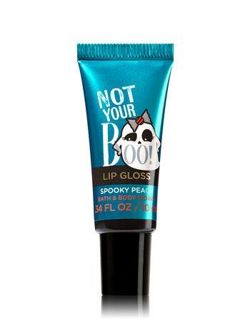 NOT YOUR BOO- Spooky Peach Lip Gloss ()