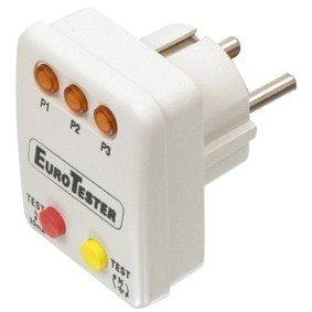 testeur controleur de prise electrique a led normes phase neutre ... - Couleur Phase Et Neutre En Electricite