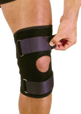 (Price Each) Mutual Industries 1075520 Adjustable Neoprene Knee Stabiliser W Straps