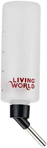 Living World Hamster Bottle, 8-Ounce, with hanger