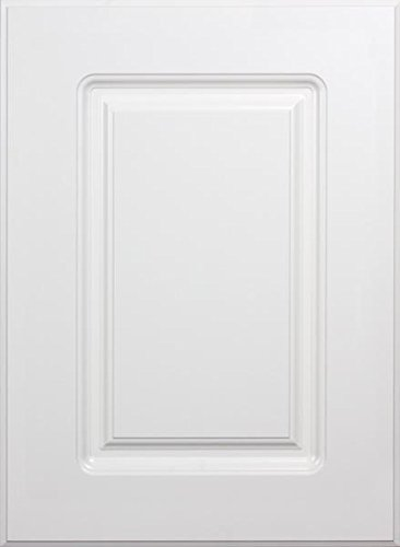 Cabinet Doors 'N' More 16'' X 22'' White RTF Raised Square Panel Kitchen Cabinet Door by Cabinet Doors 'N' More