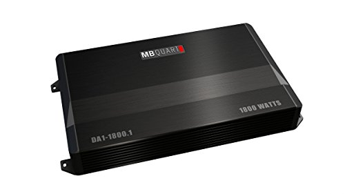 MB Quart DA1-1800.1 Discus Amplifier, 1-Channel 1800-Watt