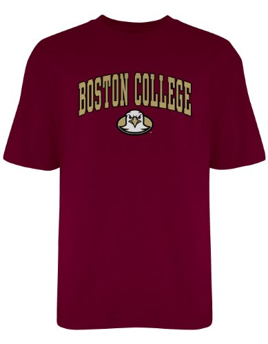 Boston College Shirt - NCAA Boston College Eagles Gildan T-Shirt, Medium, Maroon