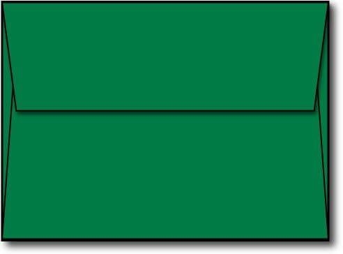 Pale green handmade paper envelopes C6