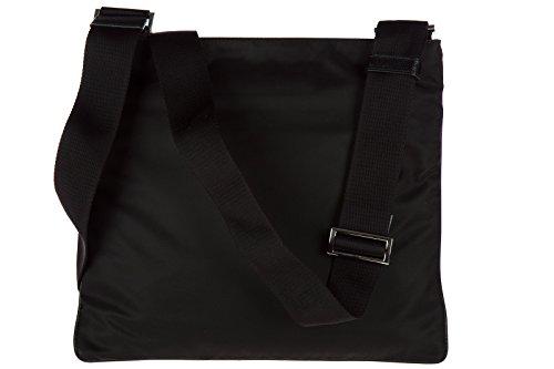 Prada borsa uomo a tracolla borsello in nylon nero