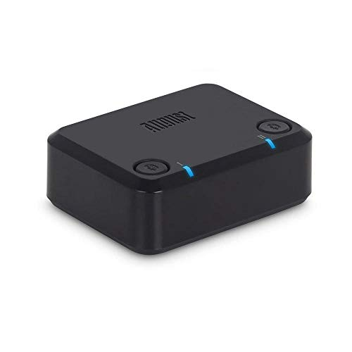 aptX Dual Bluetooth Transmitter for TV - August MR270 - Connect Two Pairs  of Wireless Headphones -- Low Latency, Optical and 3 5mm Wireless TV Double