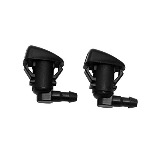 ZHParty 2 Pcs Front Windshield Washer Nozzle Wiper Spray Jet Kit fit for 2008-2010 Ford F-250, F-350,F-450, F-550 Super Duty, 2011-2015 Ford Fiesta - Replaces OEM # 7C3Z-17603-A, BE8Z-17603-A