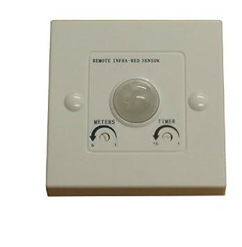 Swiftair - Sensor de Movimiento PIR y Temporizador para Arranque SPIR 1362 de Ventilador Extractor En