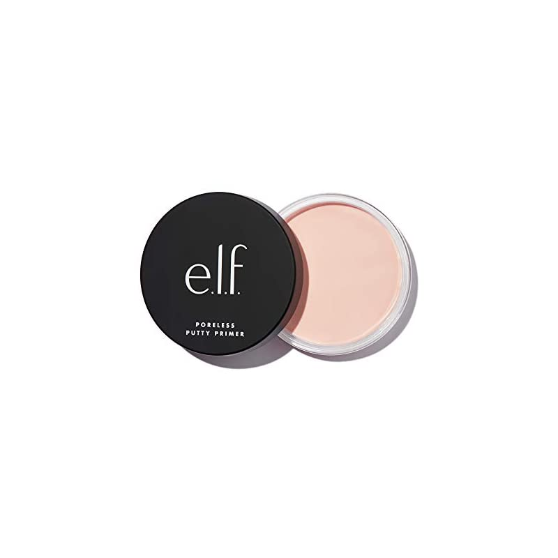 e.l.f., Poreless Putty Primer, Silky, Skin-Perfecting, Lightweight, Long Lasting, Smooths, Hydrates, Minimizes Pores, Creates Flawless Base, All-Day Wear, Flawless Finish, Ideal for All Skin Types, 0.74 Fl Oz