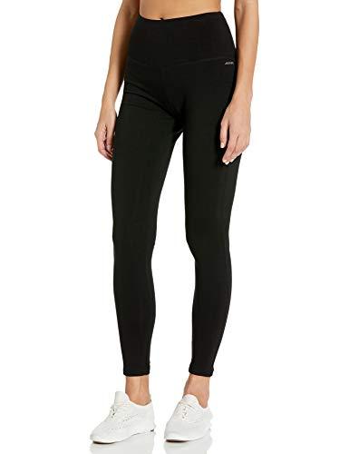 Jockey Women's Cotton Stretch Basic Ankle Legging, Deep Black, Large