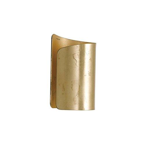 Fan Europe Moderne Wandleuchte E27, 60W, Gold, 24,8x 14,2 [Energieklasse B] 60W 8x 14 I-IMAGINE-AP-ORO