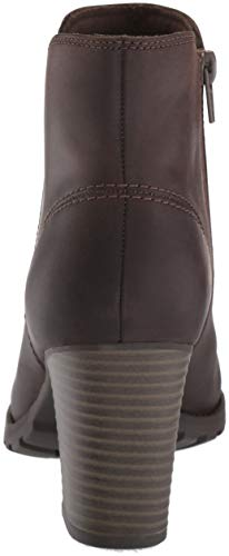 Trish CLARKS Leather Fashion Boot Women's Taupe Verona EExUqwOr1
