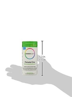 Rainbow Light Vitamins Prenatal One Food-based Multivitamin 120 Tablets