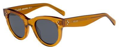 Celine CL41053/S F33 Brown Baby Audrey Round Sunglasses Lens Category 3 Size - L Sunglasses Baby