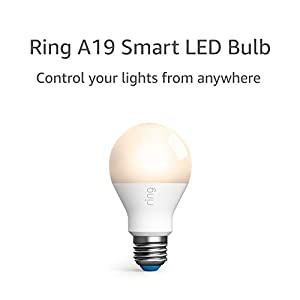 Ring A19 Smart LED Bulb, White (Ring Bridge required) 8