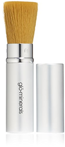 Glo Skin Beauty Brush - Flat-top Kabuki Traveller - Glominerals Ultra Brush