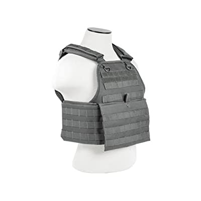 VISM CVPCV2924U Ultimate Chest Rig - Urban Gray
