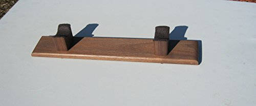 Native American Flute Stand - Hand Made - Made From Solid American Walnut - Hand Rubbed Finish by flute stand