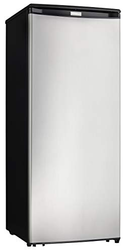 Danby Designer Energy Star 8.5-Cu. Ft. Upright Freezer with Spotless Steel Door