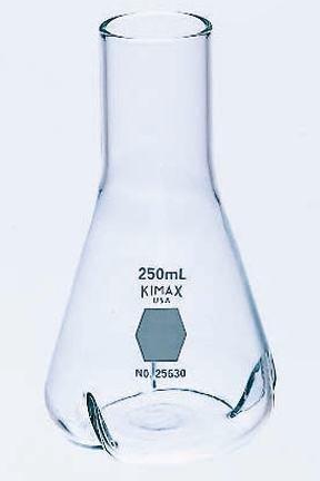 Kimax Baffled Culture Flasks, 250mL Capacity