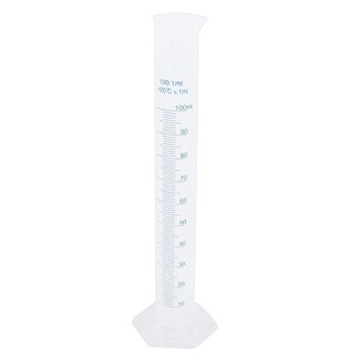 The 100ml Transparent Plastic Graduated Cylinder - 8