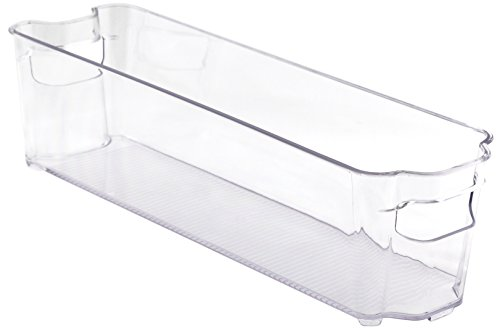 Hard Plastic Storage Bins Interdesign Refrigerator And