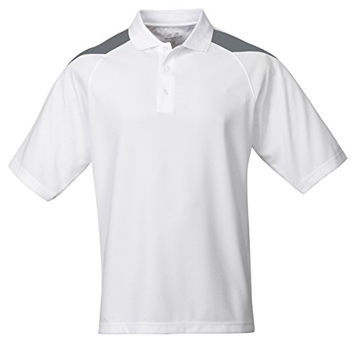 Tri Mountain 6.3 oz. 100% polyester waffle knit polo shirt - 207 Avenger (Knit Polo Waffle)