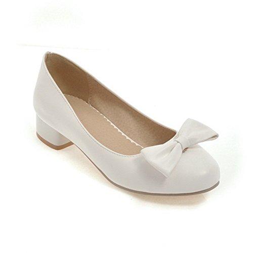 BalaMasa APL10395 Blanc Femme 36 EU Compensées Sandales 5 Blanc rrxqdRT