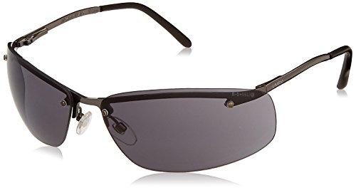 Uvex S4111 Slate Safety Eyewear, Matte Gunmetal Frame, Gray Hardcoat - Sunglasses Safety Uvex