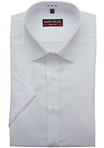 Unie Lavazio Fit Popeline Blanc 00 br Chemise Marvelis 12 Body br De Coton En 6799 xXFEw