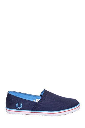Fred Perry Men's Kingston Stampdown Sneaker Carbon Blue 9 M UK (10 US Men)