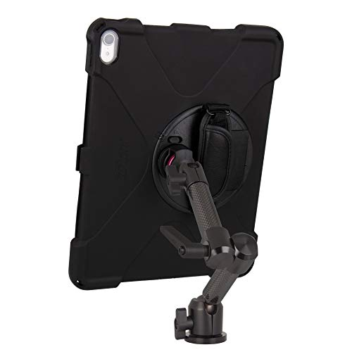 The Joy Factory MagConnect Carbon Fiber Wall/Counter Mount with aXtion Bold MP Water-Resistant Rugged Shockproof Case for iPad Pro 12.9'' [3rd Gen], Built-in Screen Protector, Hand Strap (MWA4104MP) by The Joy Factory (Image #4)