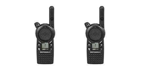 2 Pack of Motorola CLS1110 1 Watt Business Two-Way Radio with 1 Channel 121 Interference Codes 15 Floor Range by Motorola