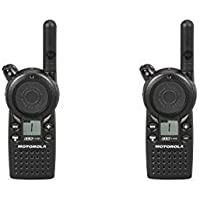 2 Pack of Motorola CLS1110 1 Watt Business Two-Way Radio with 1 Channel 121 Interference Codes 15 Floor Range