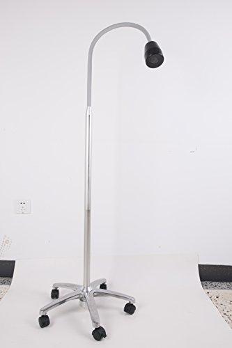 New Portable Dental Floor-halogen Examination Lamp JD1100 3W Mobile Stand Type LED Exam Light ()