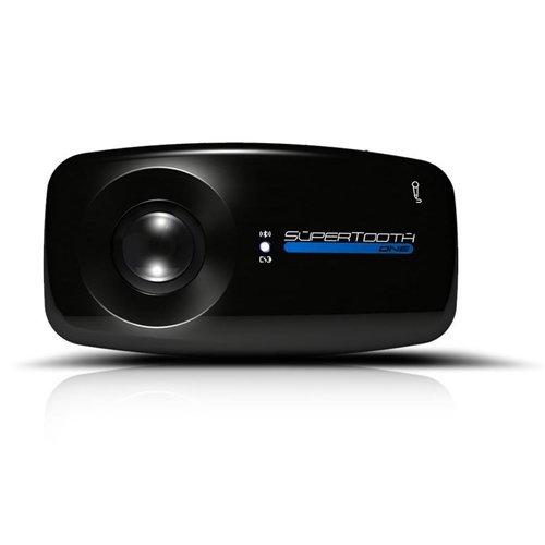 SuperTooth One Bluetooth Visor Speakerphone Car Kit - Black by Supertooth (Image #3)