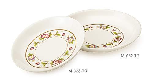 (G.E.T. Enterprises M-028-TR Tea Rose 1 oz. Sauce Dish (Pack of 12))