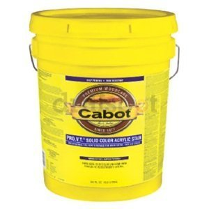 Cabot Stains 0801 Acrylic Base Solid Siding Stain,, used for sale  Delivered anywhere in Canada
