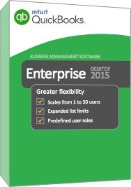 QuickBooks Enterprise Solutions 15.0 (2015) 1-user, Silver Edition, (1 Year Subscription)