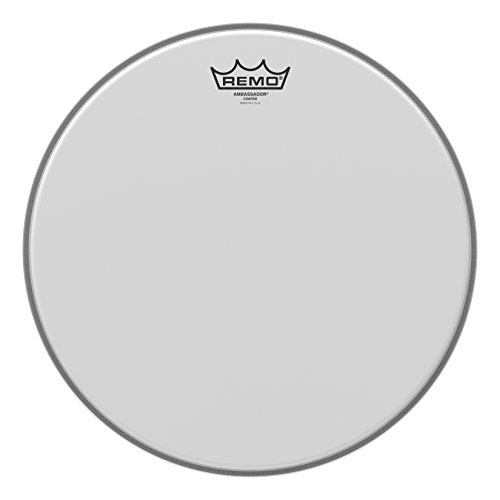 Remo Ambassador Coated Drum Head - 14 Inch (Best Snare Drum Head For Rock)