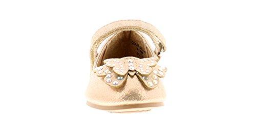 Princess Stardust Gaby Mädchen Party Schuhe Champagne Gold - Champagne Gold - UK Größen 4-12