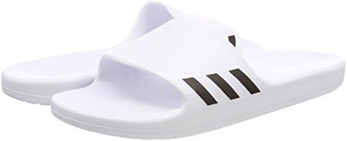 core Black ftwr Piscine Femme Plage Wht Aqualette Chaussures Wht amp; Adidas Blanc De ftwr W Pfq7UZa