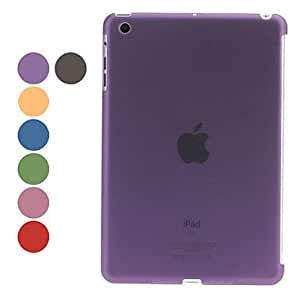Protective Hard Case with Frosted Surface for iPad Mini (Assorted Colors) , Purple