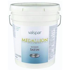 Valspar 027.0003400.008 Medallion 100% Acrylic Interior Latex Satin Wall And Trim -