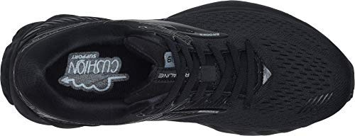 Brooks Women's Adrenaline GTS 19 Black/Ebony 5 D US by Brooks (Image #1)